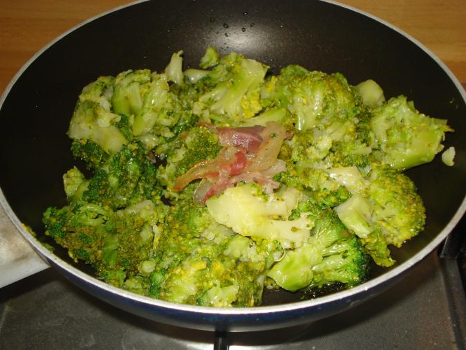 broccoletti stufati in padella