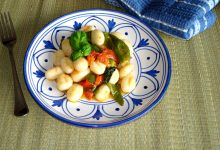 Gnocchi di patate ai peperoncini verdi friggitelli