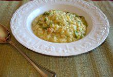 Risotto ai peperoncini verdi friggitelli e zucchine