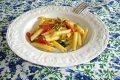 Pasta al soffritto di peperoncini friggitelli e pomodorini