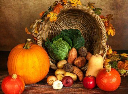 La spesa di stagione – i prodotti del mese di ottobre
