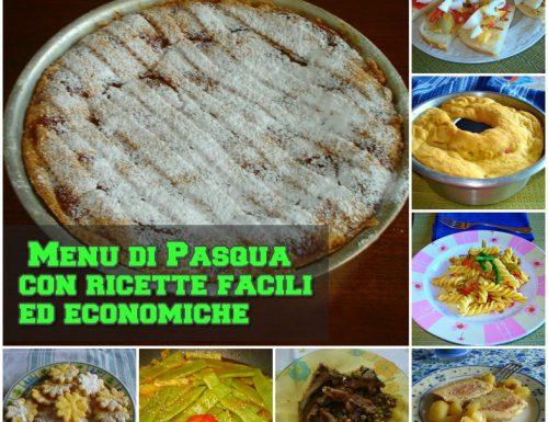 Menu di Pasqua con ricette facili ed economiche