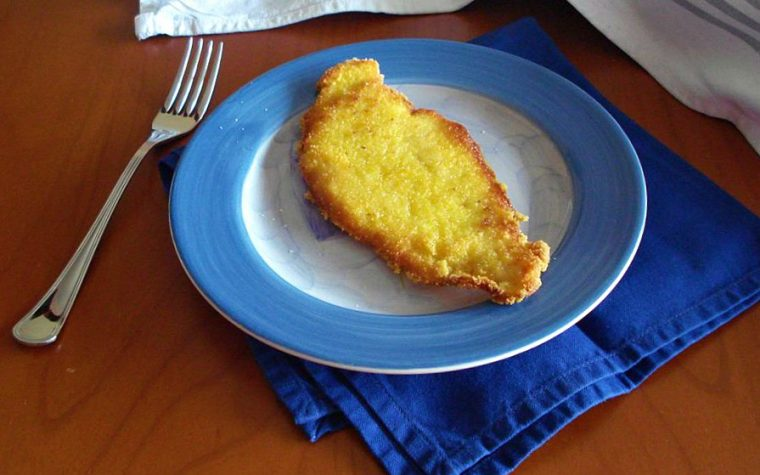 Fettine di pollo panate alla farina di mais