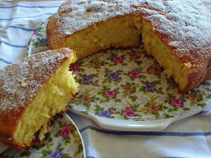 torta sofficissima alla panna