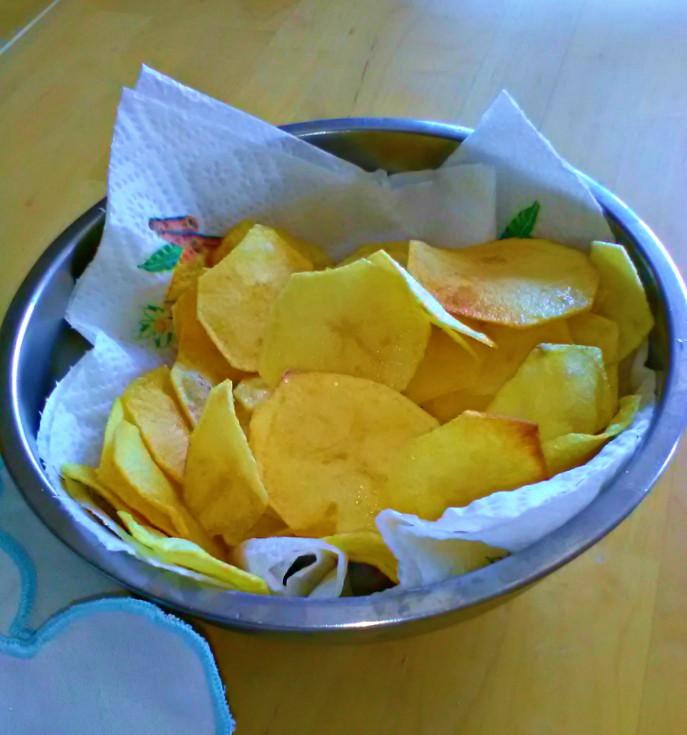 chips di patatine fritte