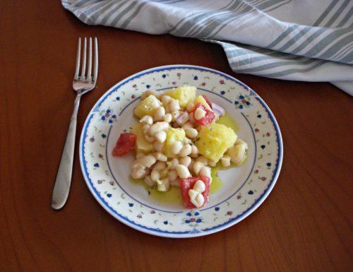 Insalata di fagioli cannellini e patate