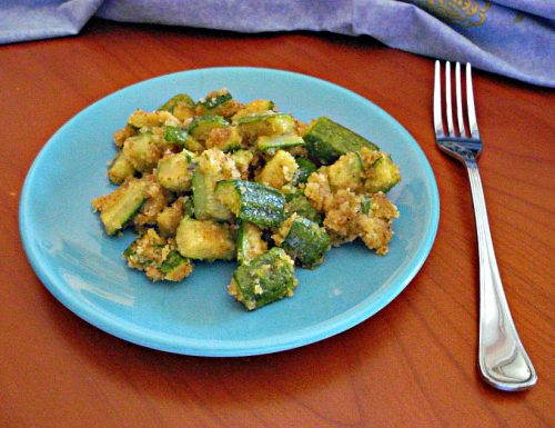 zucchine sabbiose in padella alle erbe aromatiche