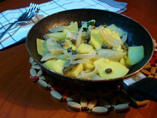 padellata saporita di finocchi e patate