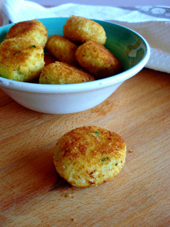 polpette di cavolfiore e patate