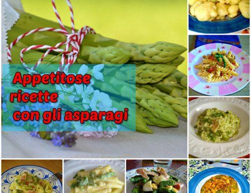 Appetitose ricette con gli asparagi