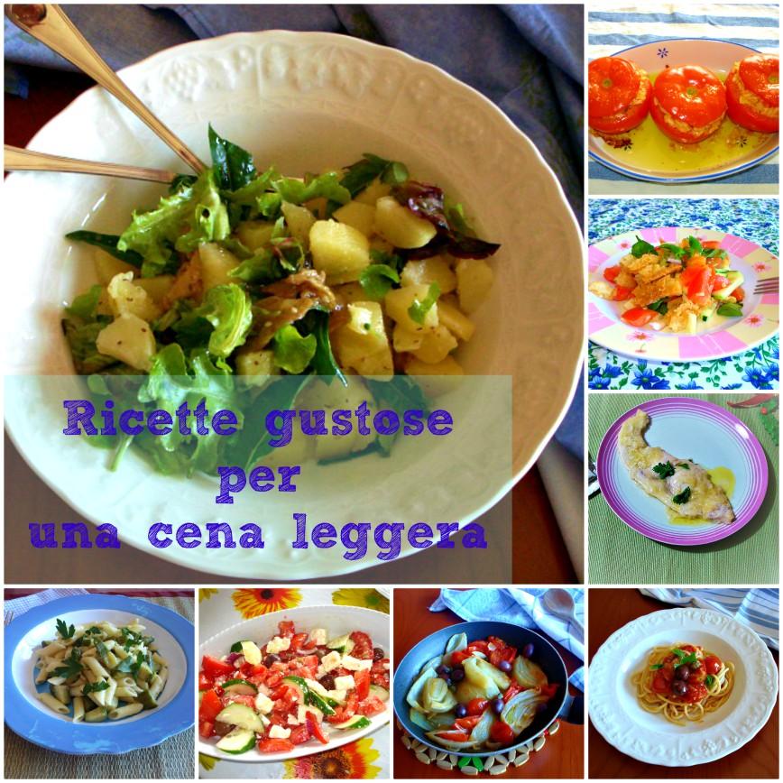 ricette gustose per una cena leggera