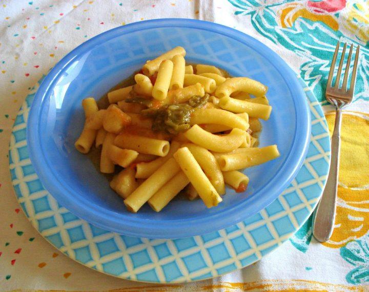 pasta con patate e friggitelli
