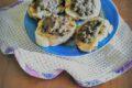 Crostini saporiti con lenticchie