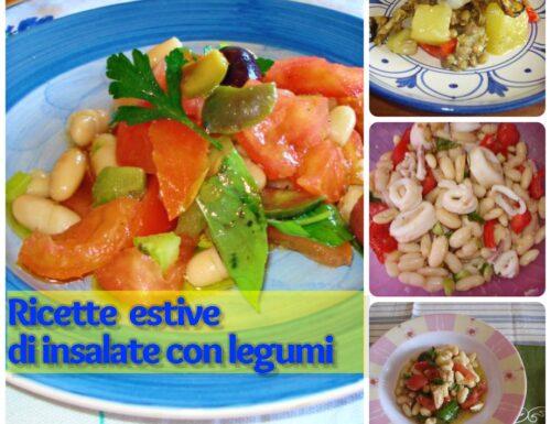 Ricette estive di insalate con legumi