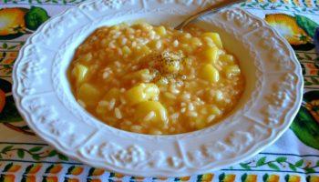riso e patate alla napoletana