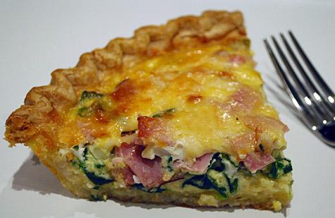 spinach-ham-and-parmesan-quiche
