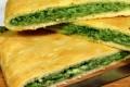 Focaccia ripiena con spinaci e ricotta