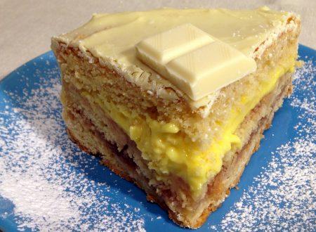 Torta Sacher al cioccolato bianco