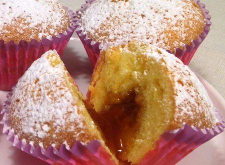 Muffin cuore morbido alla marmellata