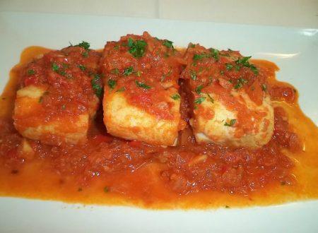 Merluzzo in salsa di pomodoro