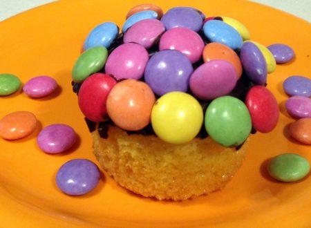Muffin con gli smarties