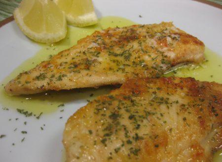 Fettine di pollo al limone