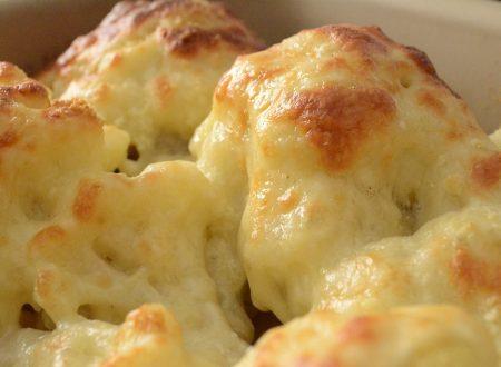 Cavolfiori al formaggio