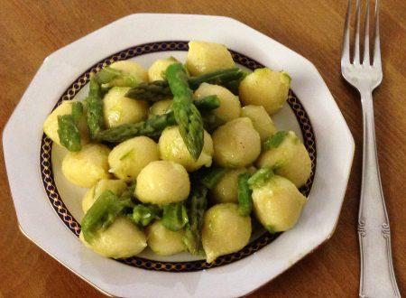 Chicche di patate con ricotta agli asparagi