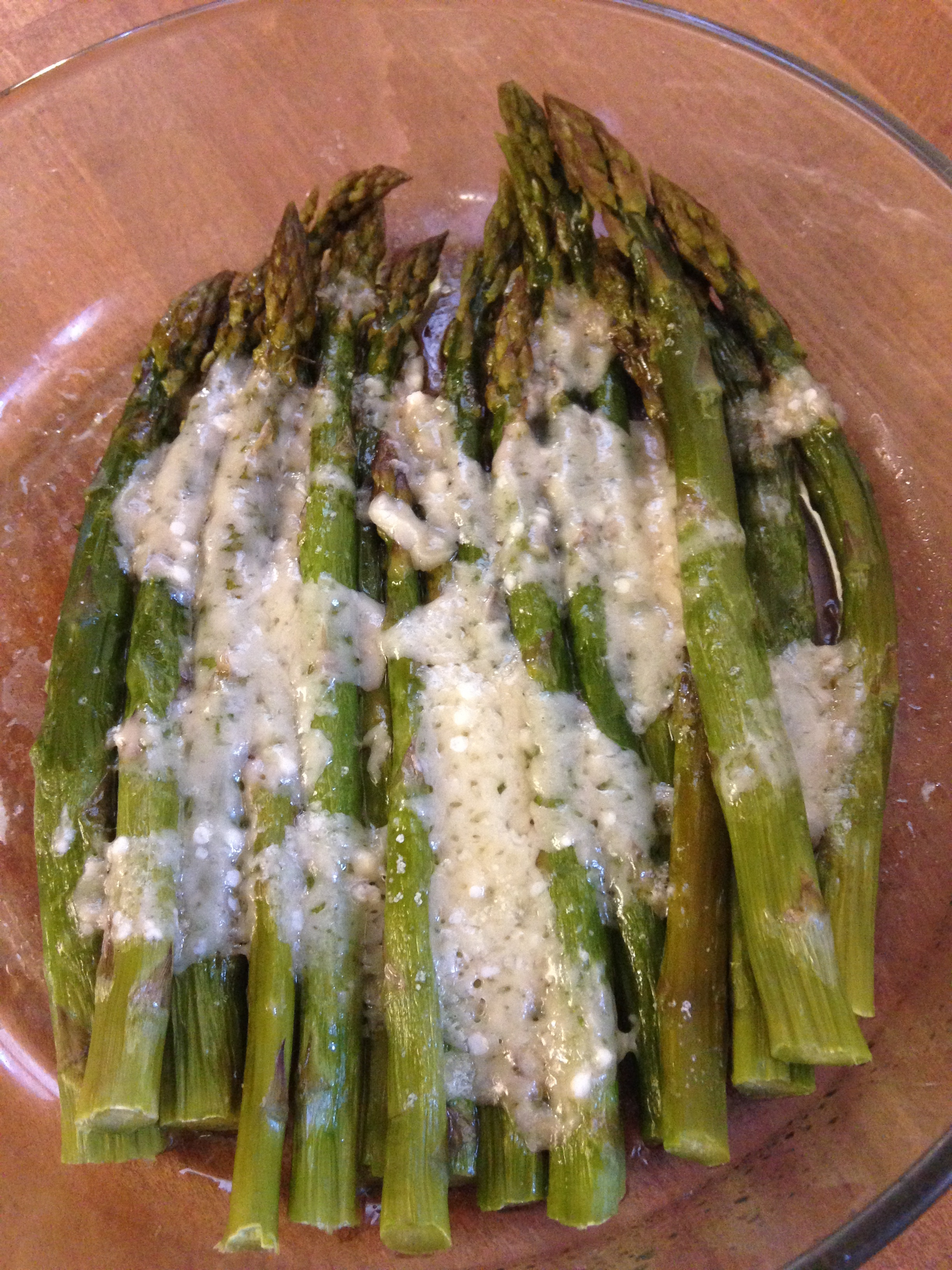 Asparagi al Parmigiano (velocissimi)