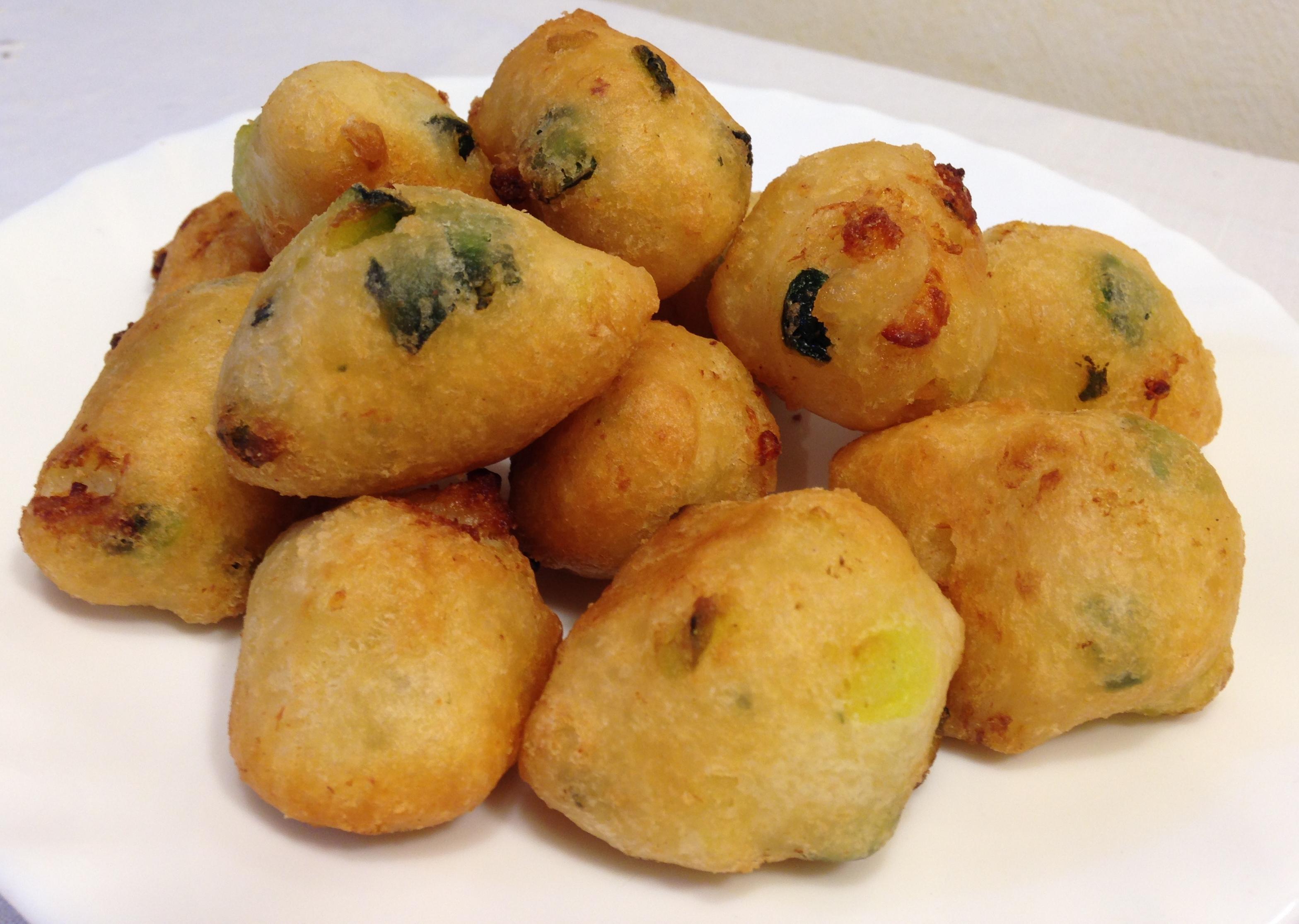 Frittelle di Gamberetti e Zucchine