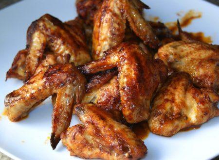 Alette di pollo saporite