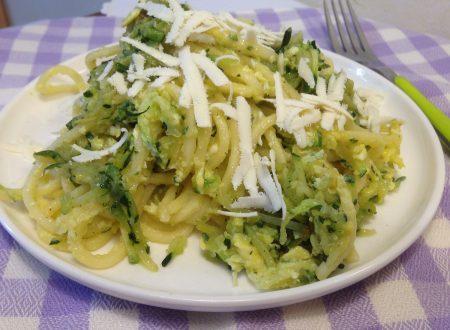 Troccoli con zucchine e ricotta salata