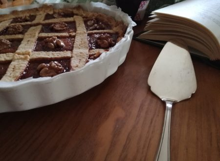 Crostata marmellata e noci