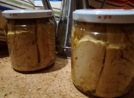 Tonno sott'olio fatto in casa – Tuna in homemade oil