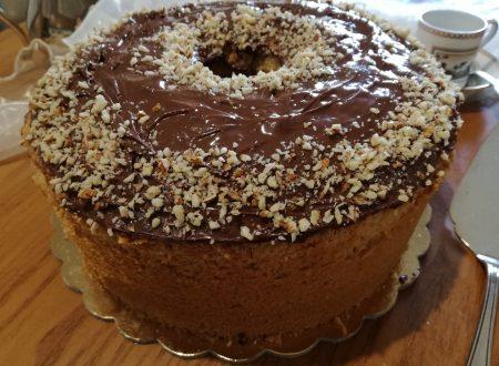 Chiffon cake alla Nutella