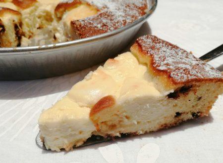 Torta Nua con crema alla ricotta