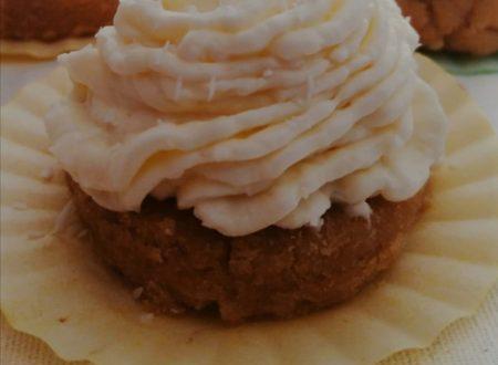 Cupcakes senza cottura al cocco