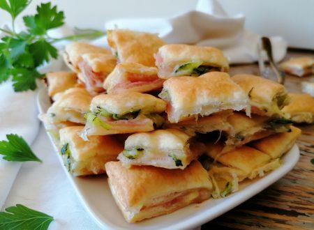100 Salatini con zucchine prosciutto e scamorza