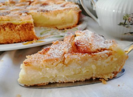 Crostata con crema pasticcera  e mascarpone