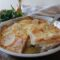 Parmigiana di patate prosciutto e scamorza