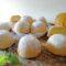 Mezze sfere di frolla con crema al limone
