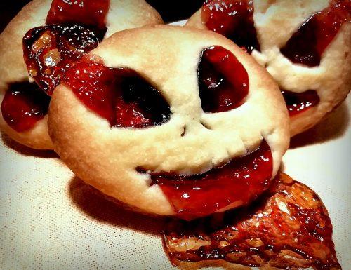 Biscotti di Halloween sanguinanti