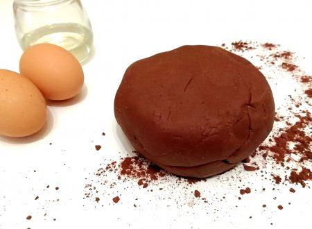 Pasta frolla al cacao senza burro leggera e veloce