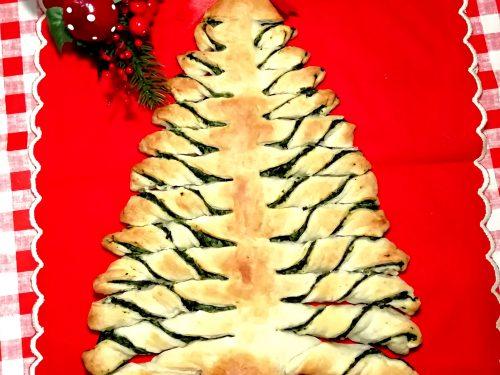 Albero di Natale di pasta sfoglia veloce