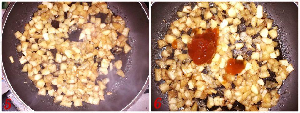 biscotti  morbidi con cuore alle mele