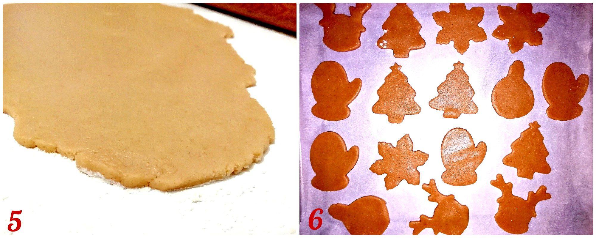 procedimento ricetta biscotti