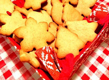 Biscotti speziati con miele e cannella