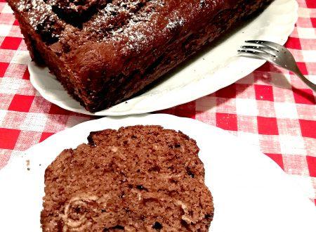 Plumcake morbido al cioccolato fondente