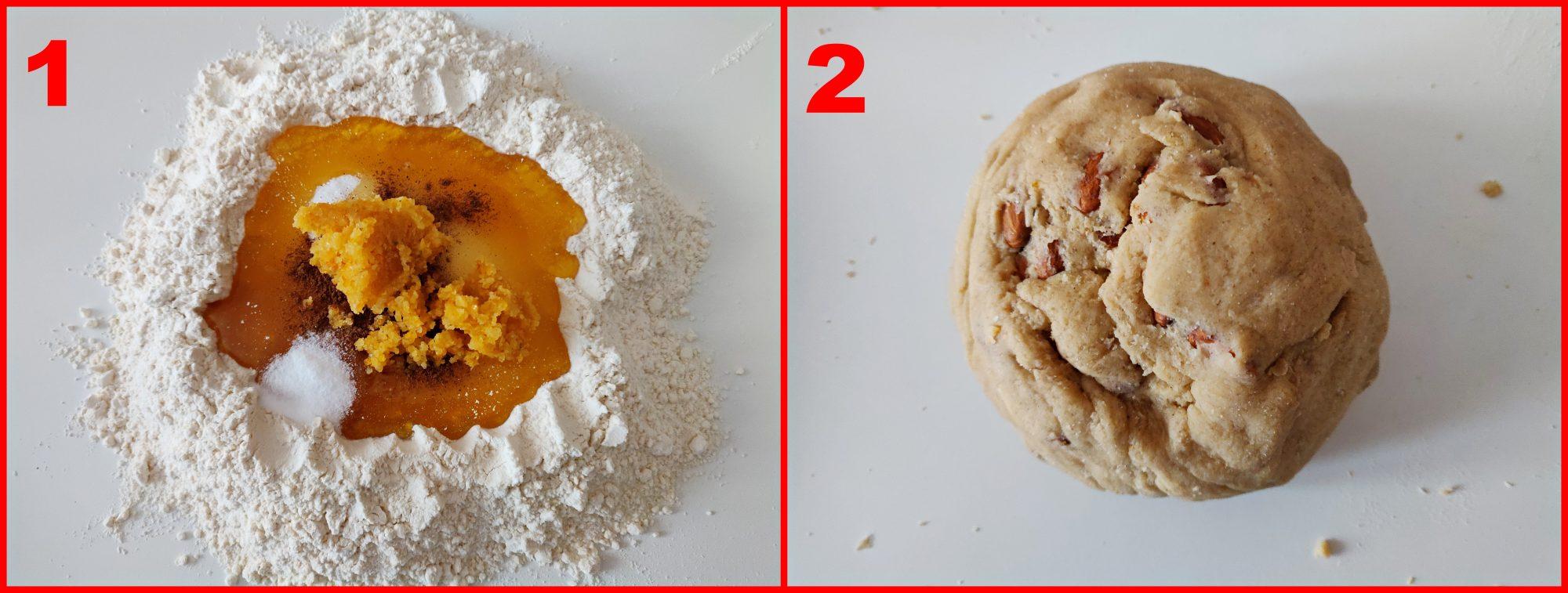 preparazione biscotti