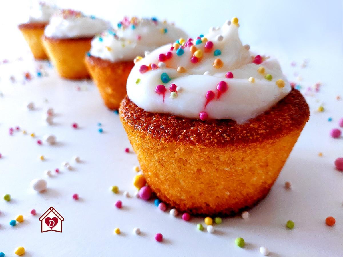 cupcakes di semolino